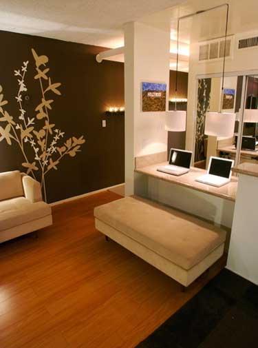 Kako opremiti mali stan opremanje interijera for Ideas para pintar paredes interiores de casa