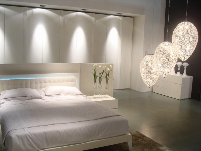 Trendovi u opremanju spava e sobe dizajn interijera - Lumi camera da letto ...