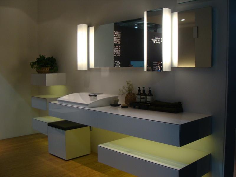 Bauhaus Dekorativne Tapete : Foto: Dizajn interijera – Trendovi u opremanju kupaonica