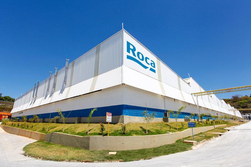 Roca otvorila novu tvornicu sanitarnog porculana for Fabrica de sanitarios roca