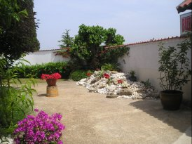 Prekrasni vrt hotela Sv. Benedikt