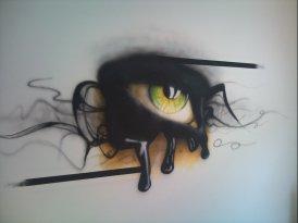 Umjetnost Airbrush-em