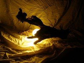 Stolne lampe od prirodnih materijala