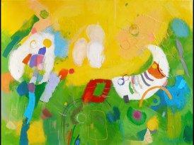 Dodir u bojama – slike Rinelle Ivanković