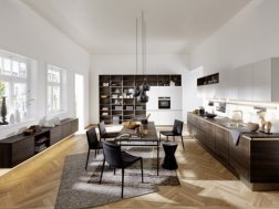 Dizajn interijera: kombinacija stilova u kuhinji