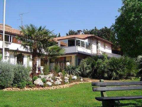 Vrt hotela Sveti Benedikt