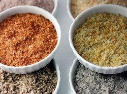 Sami napravite sol s različitim začinima