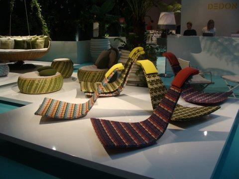 Moderne vrtne garniture