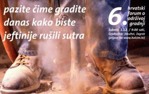 Održan 6. Hrvatski forum o održivoj gradnji